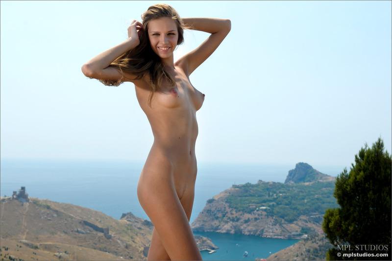 Mischa Nude On Hill Sexy Sex Elitebabes 1